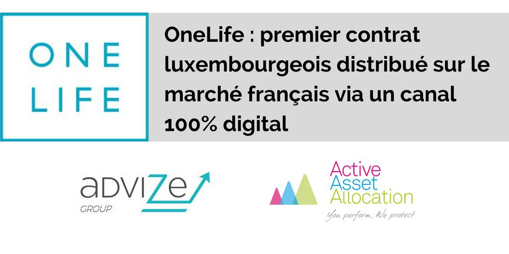 OneLife - 1er contrat LUX en France