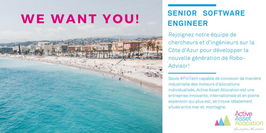 Offre d'emploi basé à Nice pour Active Asset Allocation