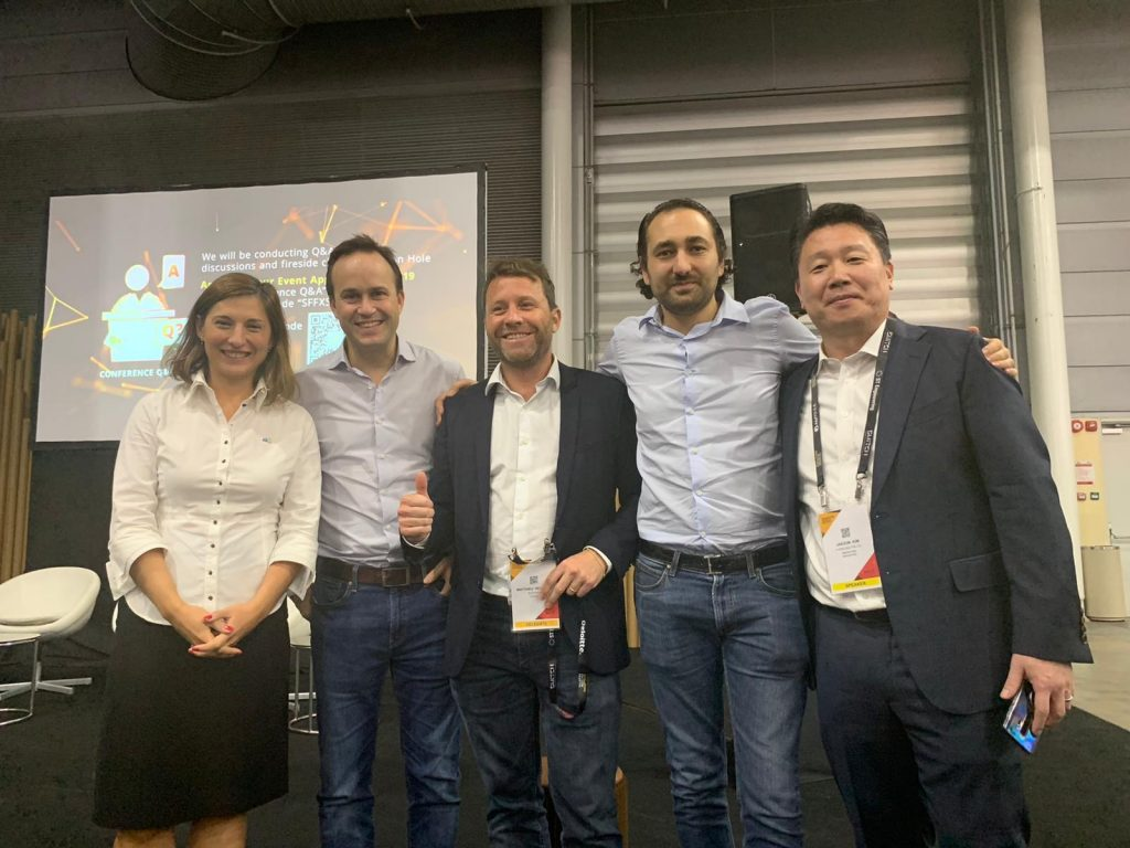 AAA at the Singapore FinTech Festival 2019